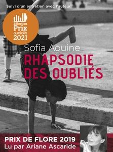 Rhapsodie des oubliés de Sofia Aouine  lu Ariane Ascaride