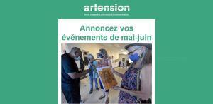 «  » ARTENSION «  » Mai Juin 2021 ….