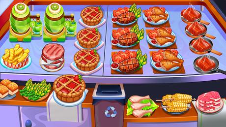 Télécharger Gratuit Aliments Fever - jeux de cuisine & Restaurant  APK MOD (Astuce) 1