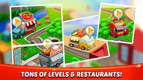 Télécharger Gratuit Aliments Fever - jeux de cuisine & Restaurant  APK MOD (Astuce) 5