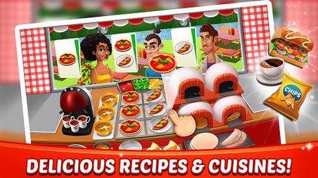 Télécharger Gratuit Aliments Fever - jeux de cuisine & Restaurant  APK MOD (Astuce) 4