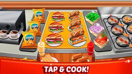 Télécharger Gratuit Aliments Fever - jeux de cuisine & Restaurant  APK MOD (Astuce) 3