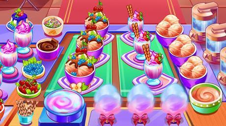 Télécharger Gratuit Aliments Fever - jeux de cuisine & Restaurant  APK MOD (Astuce) 2