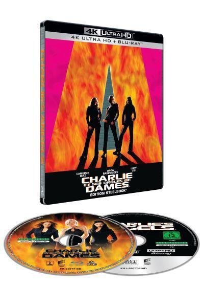 Charlie's Angels en blu-ray & UHD