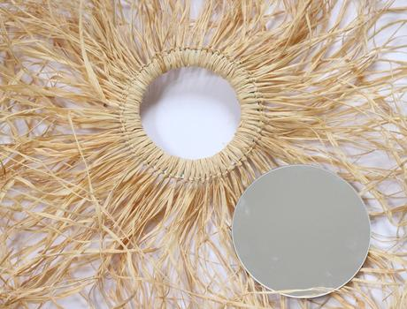 déco murale bohème bambou couronne à faire soi-même