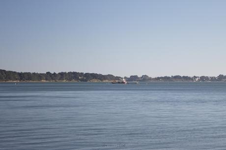La plage des sept îles dans le golfe du Morbihan