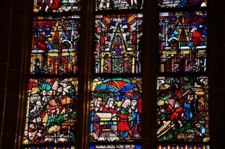 Les vitraux de la Collégiale St Thiébaut à Thann © French Moments