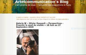 Olivier Dassault – un homme de l'Art – une immense disparition