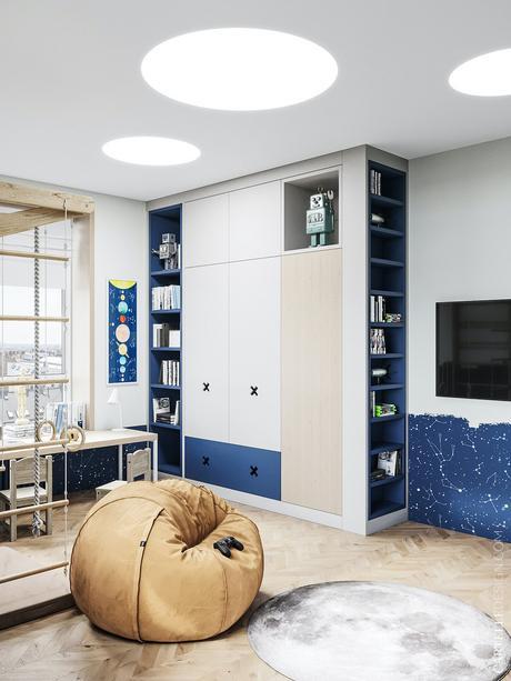 espace jeu chambre double deux enfants design conseil aménagement