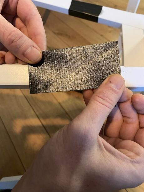 comment réparer fauteuil pied bois facile