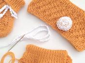 Explications pour tricoter bandeau bébé (naissance)