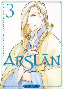 The Heroic Legend of Arslân T3, de Hiromu Arakawa