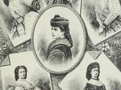 Portraits l'impératrice Elisabeth dessinés partir photographies
