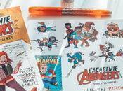 [Lecture] L'Académie Avengers Premier roman graphique Lumen