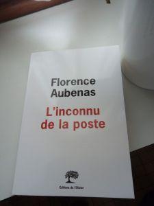 L'inconnu de la poste de Florence Aubenas