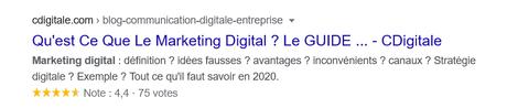 Rich Snippets Google : Tout ce QU' il faut savoir en 2021