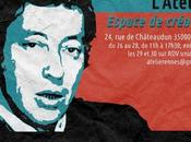 Exposition Gainsbourg ans, œuvres