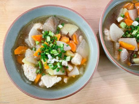 Envie de Japon – Kenchin jiru (soupe japonaise de légumes au tofu)
