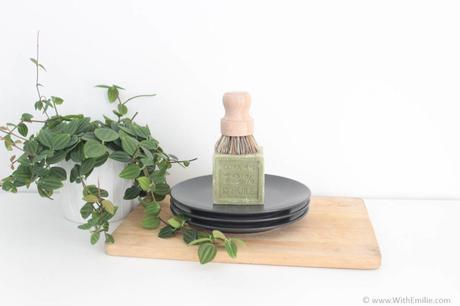 Faire la vaisselle en étant Zéro-Déchet - WithEmilieBlog