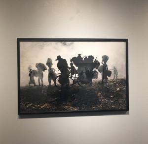 Galerie LEE  exposition MAK REMISSA  » Left Three Days  » derniers jours le 13 Mars 2021