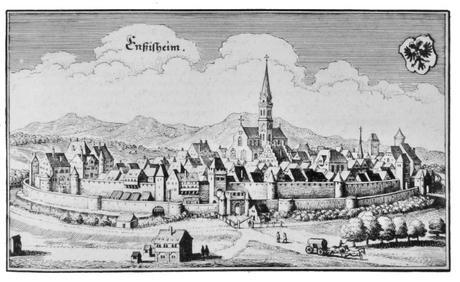 Gravure d'Ensisheim