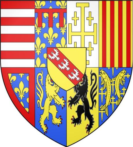 Blason des ducs de Lorraine 1538 © Ipankonin - licence [CC BY-SA 3.0] from Wikimedia Commons