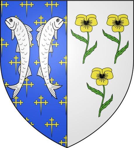 Les deux poissons - Blason de Bar-le-Duc © Spedona - licence [CC BY-SA 4.0] from Wikimedia Commons