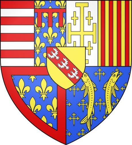 Blason de René II © Ipankonin - licence [CC BY-SA 3.0] from Wikimedia Commons