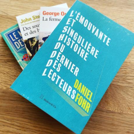 [SP]J'ai lu: L'émouvante et singulière histoire du dernier des lecteurs de Daniel Fohr