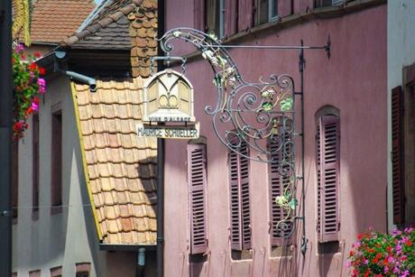 Enseigne de la rue basse, Gueberschwihr © French Moments