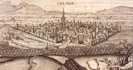 Colmar vers 1750