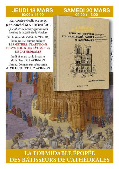 Brève : rencontre-dédicace à Avignon le jeudi 18 mars et à Villeneuve-lez-Avignon le samedi 20 mars