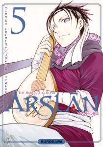 The Heroic Legend of Arslân T5, de Hiromu Arakawa