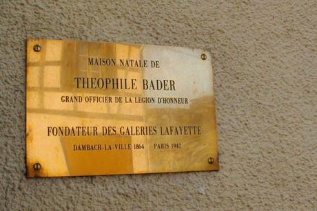 Maison natale de Théophile Bader à Dambach-la-Ville © French Moments