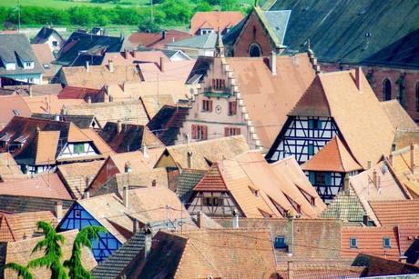 Autour de Strasbourg - Les toits de Dambach-la-Ville © French Moments