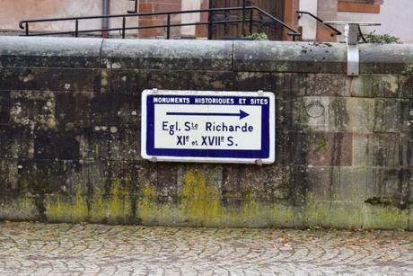En route vers l'église Sainte-Richarde d'Andlau © French Moments