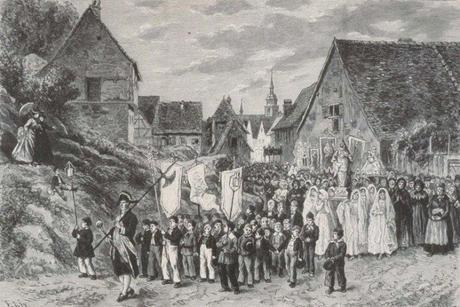 Procession de Sainte Richarde à Andlau [Domaine Public]
