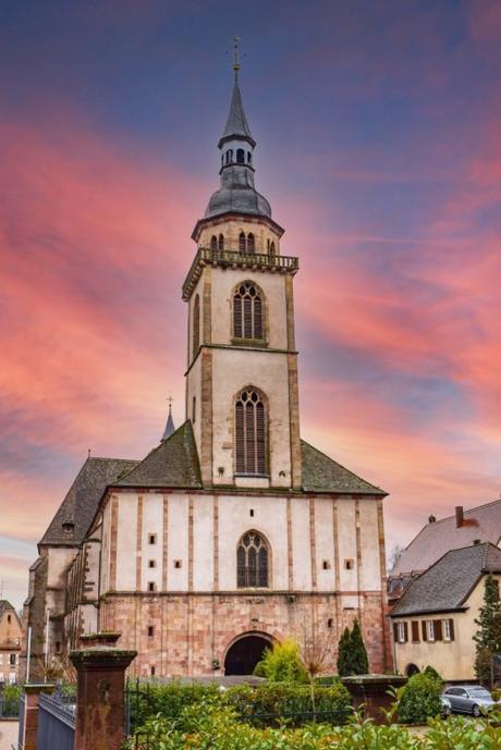 Eglise Sainte-Richarde d'Andlau © French Moments