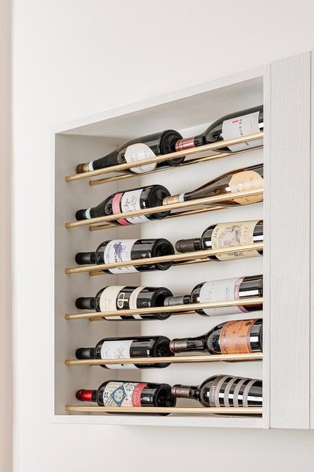 porte-bouteille original sur-mesure design niche