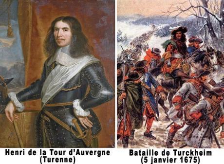 Turenne et Bataille de Turckheim