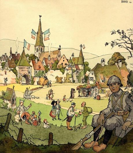 Vue de Turckheim par Hansi