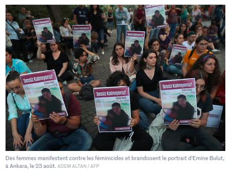 la Turquie d' Erdogan trébuche sur les droits des femmes
