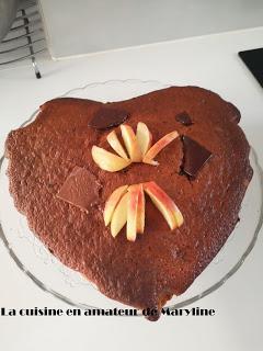 Gâteau yaourt  allégé au chocolat