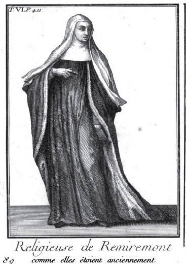 Une chanoinesse de Remiremont (1718)