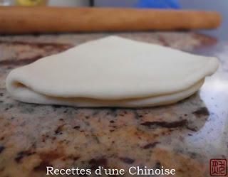 Gua bao au porc laqué char siu 叉燒割包