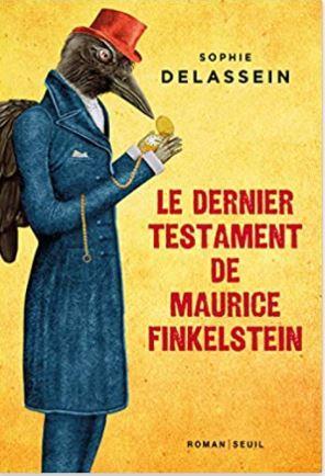 Couverture Le dernier testament de Maurice Finkelstein de Sophie Delassein