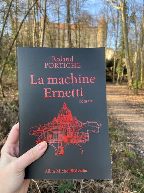 J'ai lu: La machine Ernetti de Roland Portiche