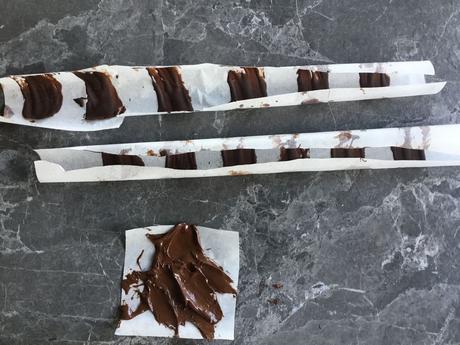 Fleur de nénuphar en chocolat réalisation facile