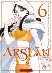 The Heroic Legend of Arslân T6, de Hiromu Arakawa