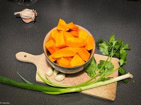 L'originale (ou presque) – Canh Bí Đỏ / Soupe de courge à la vietnamienne